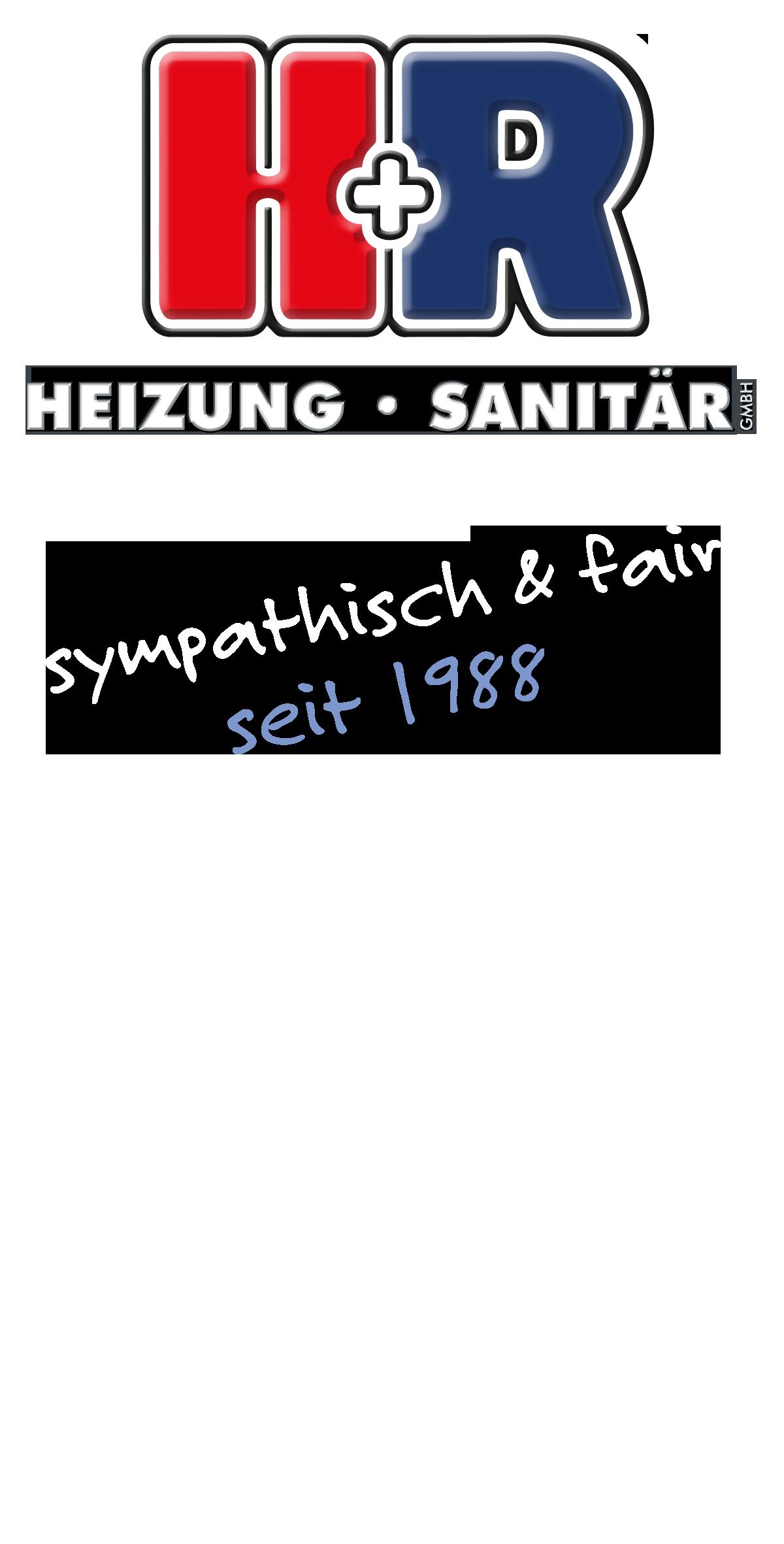 H und R-Logo Heizung Sanitär sympathisch und fair