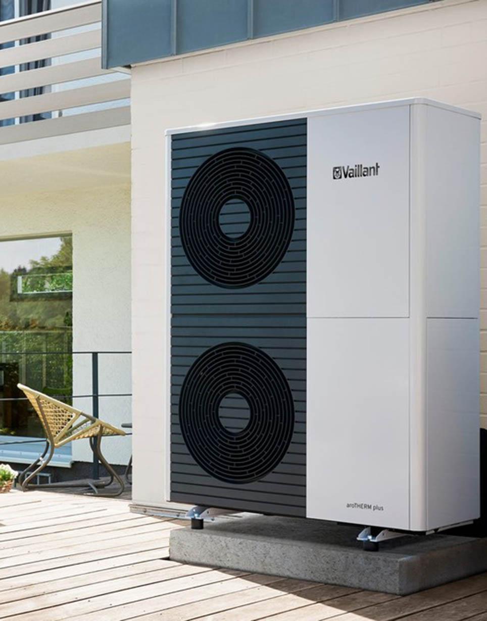 Luft/Wasser-Wärmepumpe aroTHERM plus