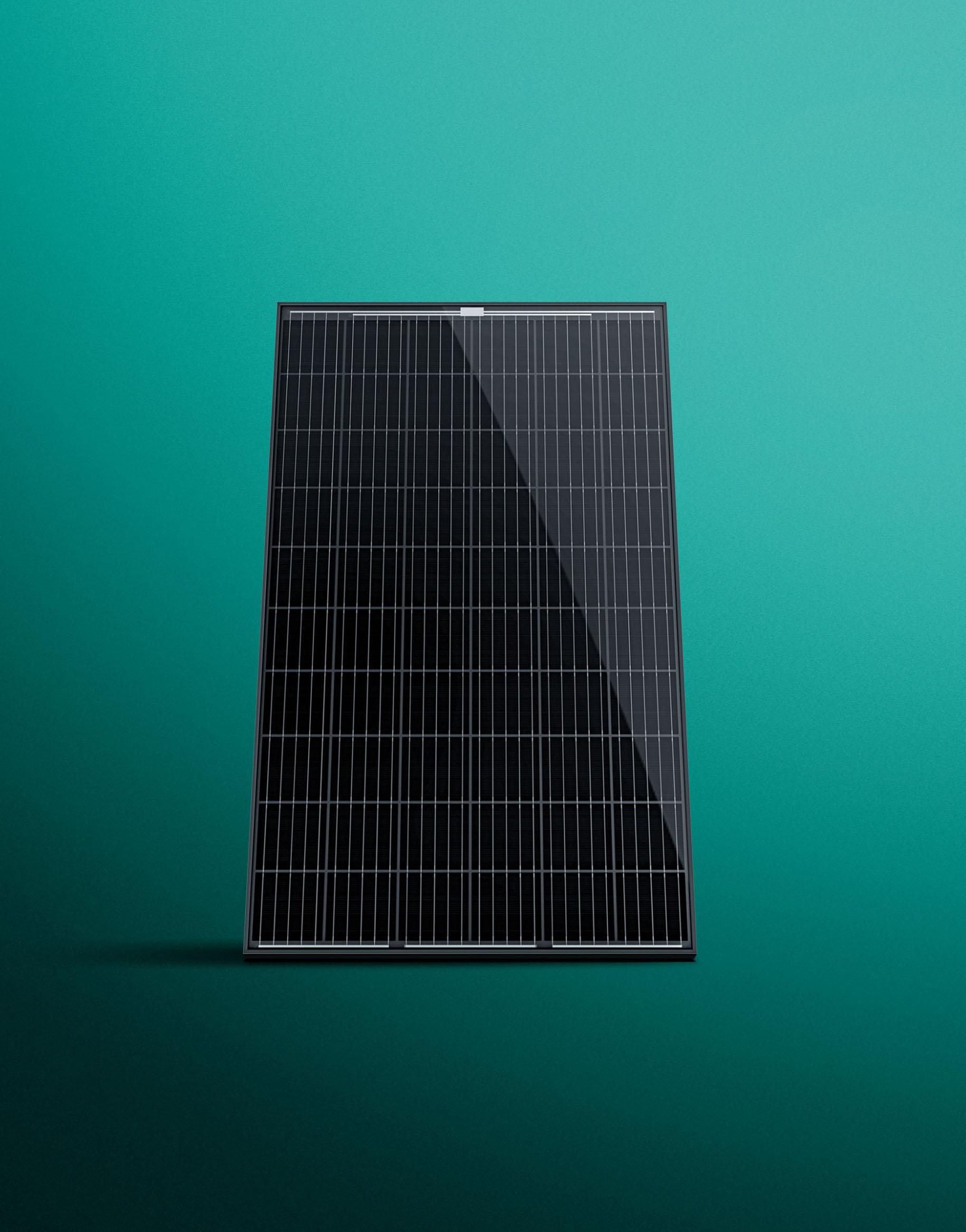 Photovoltaikmodul auroPower mit 10 Jahren Produkt- und 25 JahrenLeistungsgarantie